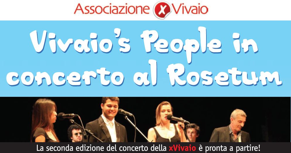 Vivaio's People in concerto al Rosetum