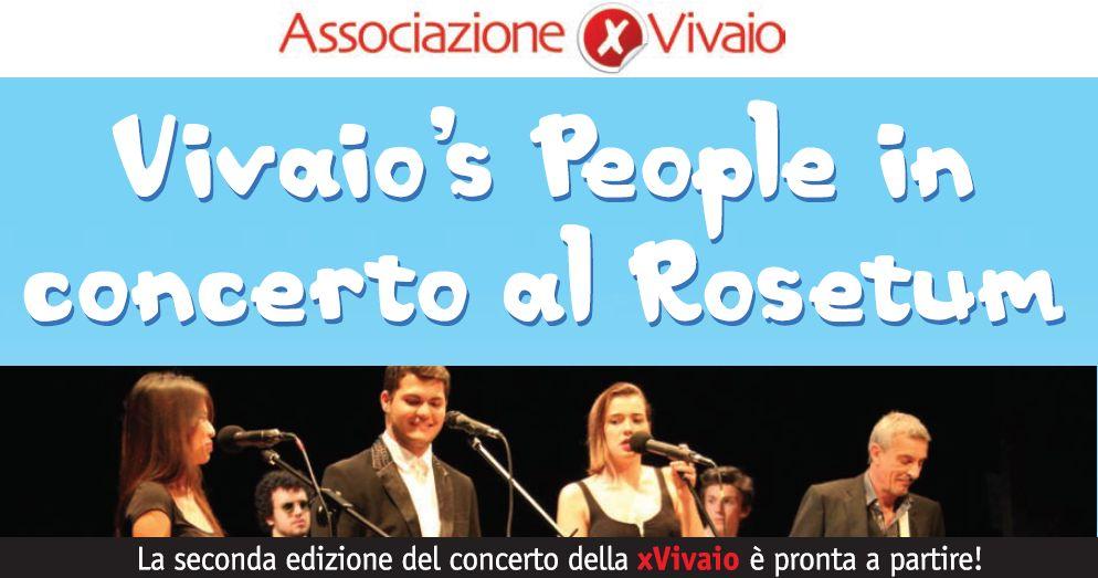 Vivaio's People in concerto al Rosetum
