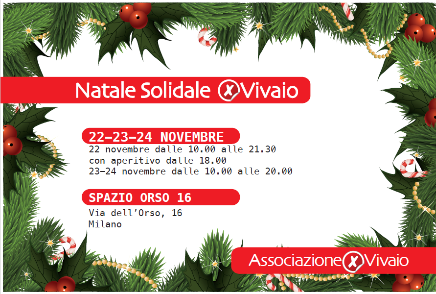 Natale solidale xVivaio 2019